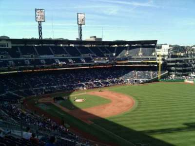 PNC Park, section: 301, row: l, seat: 7