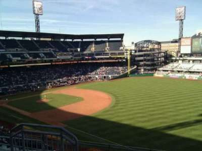 PNC Park, section: 203, row: g, seat: 10