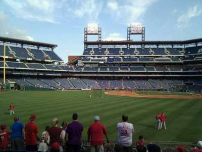 Citizens Bank Park, section: 144, row: 9, seat: 12