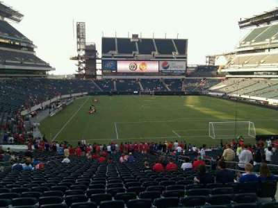 Lincoln Financial Field, section: 109, row: 37, seat: 6