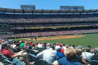Angel Stadium section 130