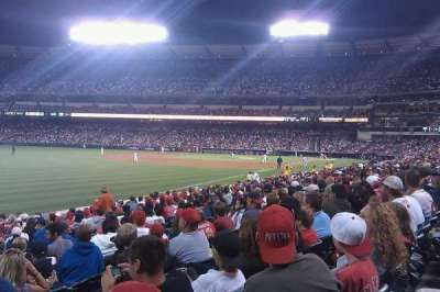 Angel Stadium section 105