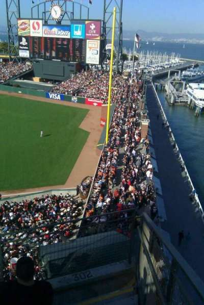 AT&T Park, section: 302, row: C, seat: 15