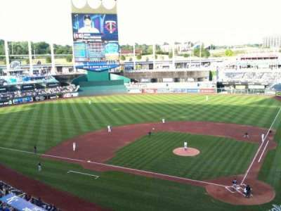 Kauffman Stadium, section: 416, row: A, seat: 1