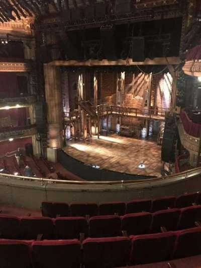 CIBC Theatre, section: Mezzanine R, row: F, seat: 14, 16