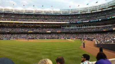 Yankee Stadium section 133