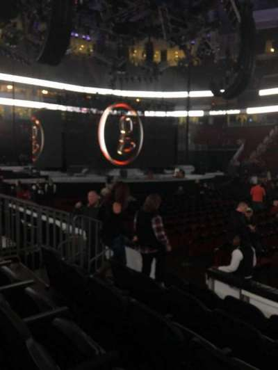 Prudential Center, section: 19, row: 5, seat: 12