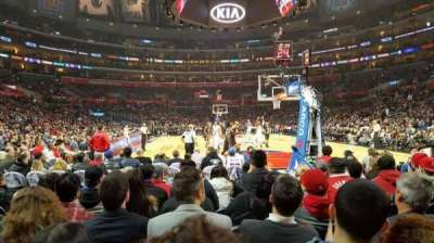 Staples Center, section: 116, row: J, seat: 8-9