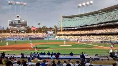 Dodger Stadium, section: 19FD, row: P, seat: 3-4