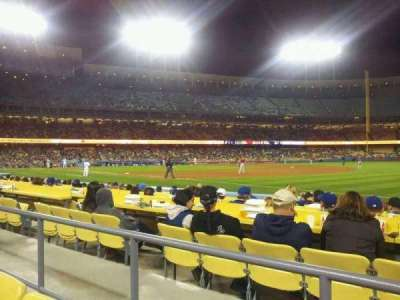 Dodger Stadium, section: 36FD, row: B