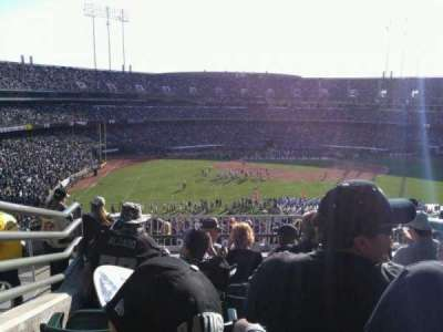 Oakland Alameda Coliseum section 245