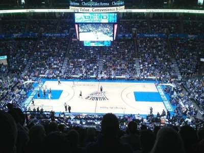Chesapeake Energy Arena, section: 323, row: L, seat: 16