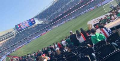 Soldier Field, section: 101, row: 13, seat: 1