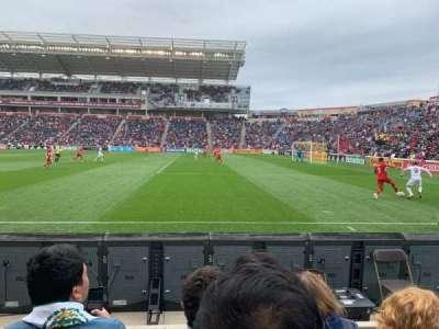 SeatGeek Stadium, section: 103, row: 3, seat: 2