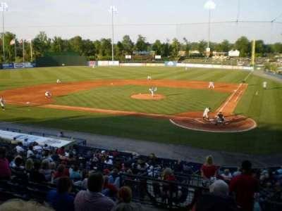 State Mutual Stadium, section: 206, row: 12, seat: 1