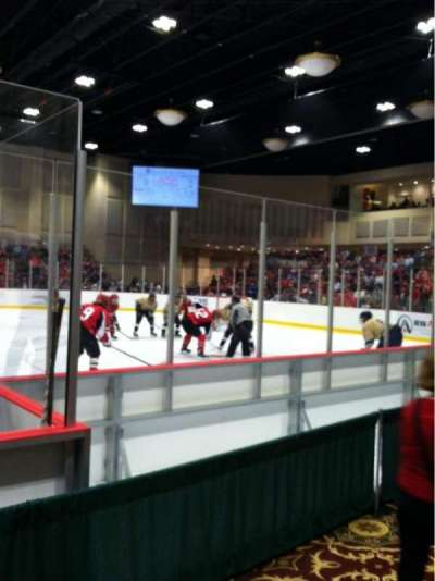 Akins Ford Arena at The Classic Center, section: 103, row: B, seat: 6