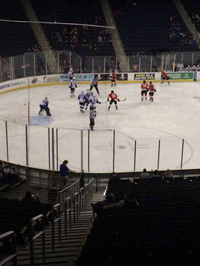 Infinite Energy Arena, section: 116, row: Z, seat: 12