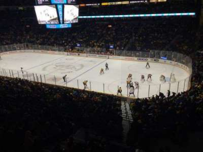 Bridgestone Arena section 212