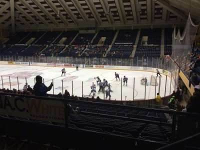 Macon Coliseum, section: 219, row: H, seat: 2
