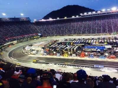 Bristol Motor Speedway, section: Yarborough Terr. Sec B, row: 25, seat: 11