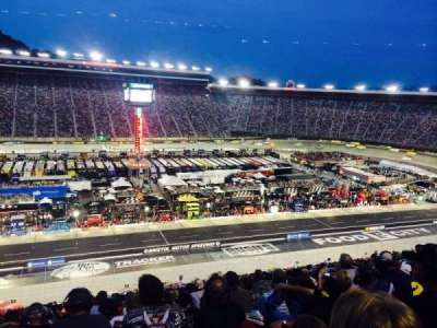 Bristol Motor Speedway section Yarborough Terr. Sec B
