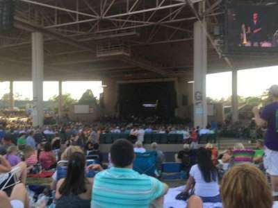 Klipsch Music Center section Lawn