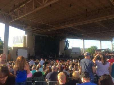 Ruoff Home Mortgage Music Center, section: D, row: AA, seat: 16