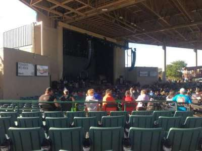 Klipsch Music Center, section: D, row: H, seat: 22