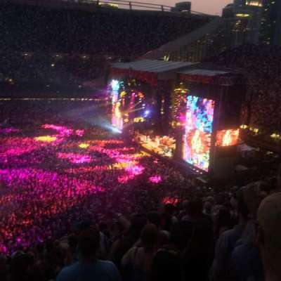 Soldier Field, section: 307, row: 14, seat: 3