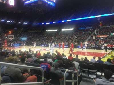 Philips Arena, section: 102, row: E, seat: 9-10