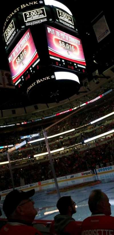 United Center, section: 110, row: 3, seat: 10