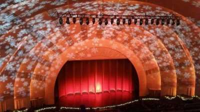 Radio City Music Hall, section: 3rd Mezzanine 5, row: G, seat: 510