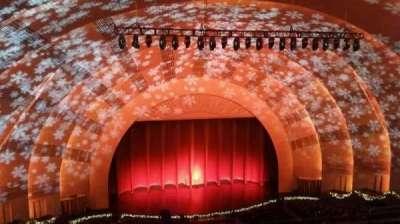 Radio City Music Hall section 3rd Mezzanine 5
