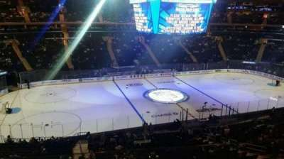 Madison Square Garden, section: 222, row: 5, seat: Aisle