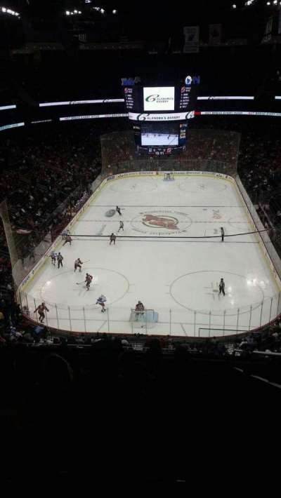 Prudential Center, section: 120, row: 9, seat: 7