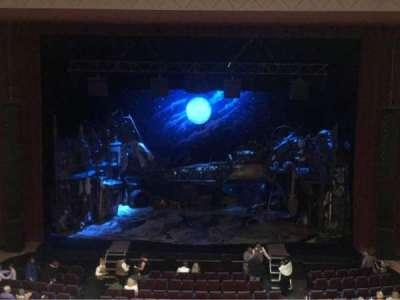 Belk Theater, section: Mezzanine, row: A, seat: 128