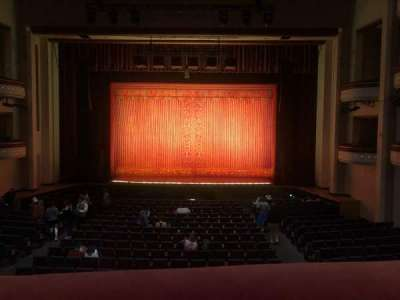 Belk Theater, section: Grand Tier, row: A, seat: 129