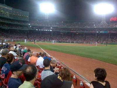 Fenway Park section Field Box 9