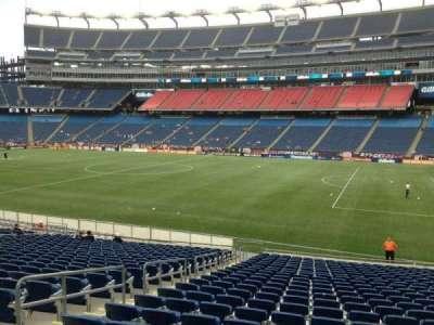 Gillette Stadium, section: 127, row: 24, seat: 17