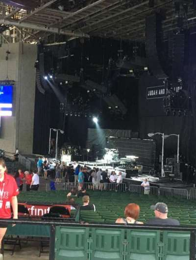 Xfinity Center, section: 4, row: D, seat: 13