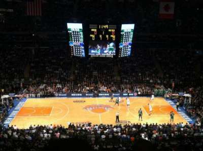 Madison Square Garden, section: 224, row: 9, seat: 3
