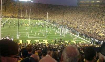 Michigan Stadium section 12