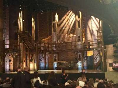 CIBC Theatre, section: Orchestra R, row: T, seat: 16