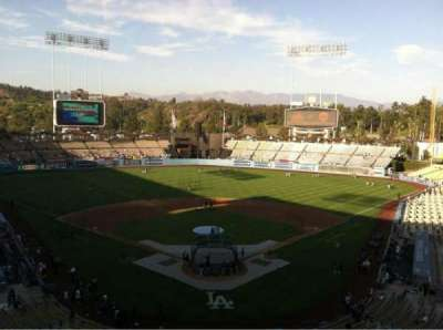 DODGER STADIUM section 1RS