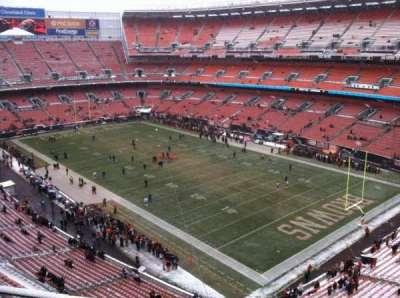 FirstEnergy Stadium, section: 516, row: 4, seat: 1