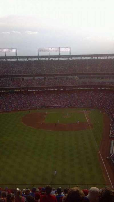 Globe Life Park in Arlington section 305