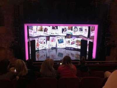 August Wilson Theatre, section: Mezzanine C-Stair 2, row: E, seat: 114