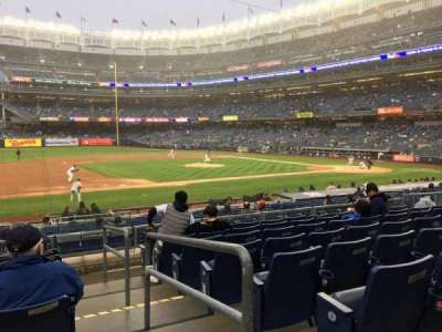 Yankee Stadium section 126