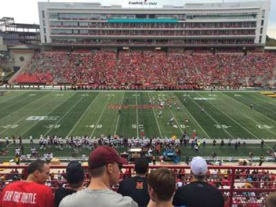 Maryland Stadium, section: 206, row: 4, seat: 15