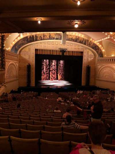 Auditorium Theatre, section: Drs, row: LL, seat: 501